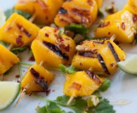 Gegrillte Mango