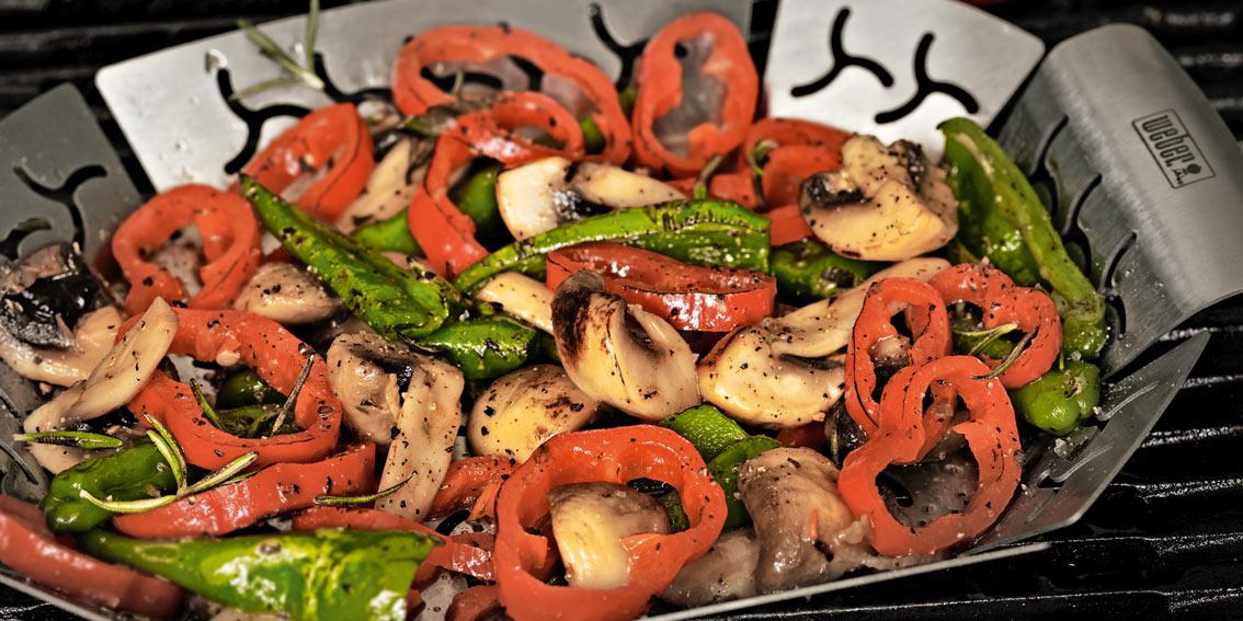 Weber Grill vegetarische Grillrezepte