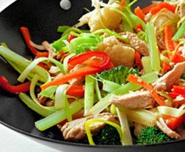 Wok-Gemüse