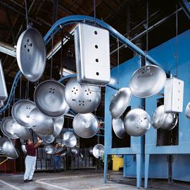 Die Weber Grillproduktion
