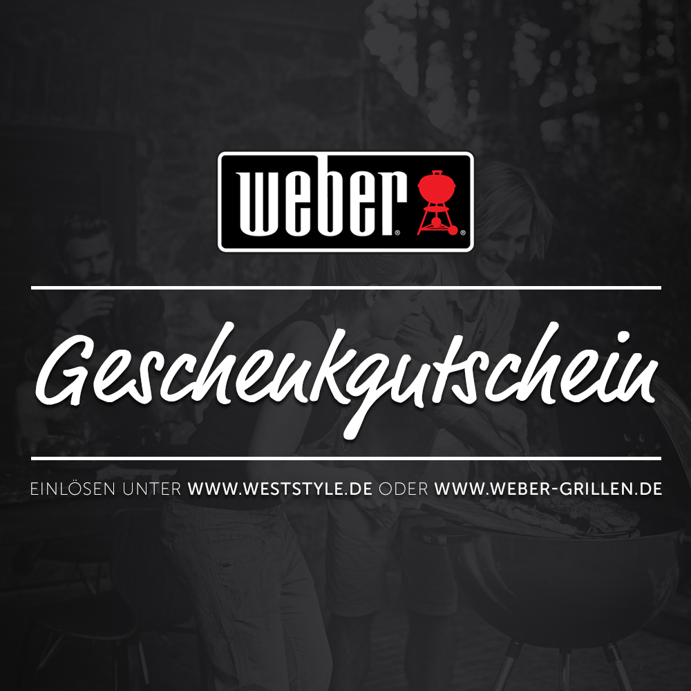 Weber Geschenkgutschein 100 Eur Gunstig Kaufen Weststyle