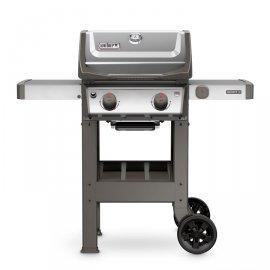 Weber Spirit II S-210 GBS, Edelstahl + gratis Steak Besteck-Set