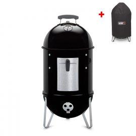 Weber Smokey Mountain Cooker 47 cm + gratis Abdeckhaube
