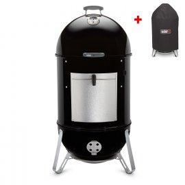 Weber Smokey Mountain Cooker 57 cm + gratis Abdeckhaube