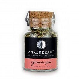 Ankerkraut Jalapeno grün, geschrotet