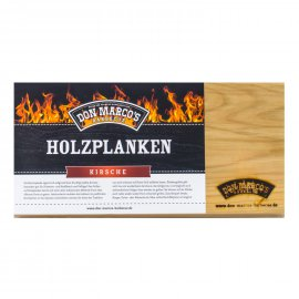 Don Marcos Barbecue Holzplanke Kirsche