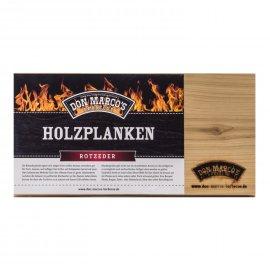 Don Marcos Barbecue Holzplanke Rote Zeder