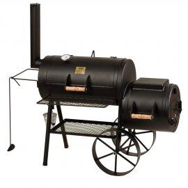 Joe's BBQ Smoker 16'' Classic, mit Kochplatte