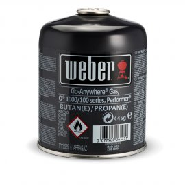 Weber Gas-Kartusche für Q 100-/1000 Serie, Performer, Go Anywhere