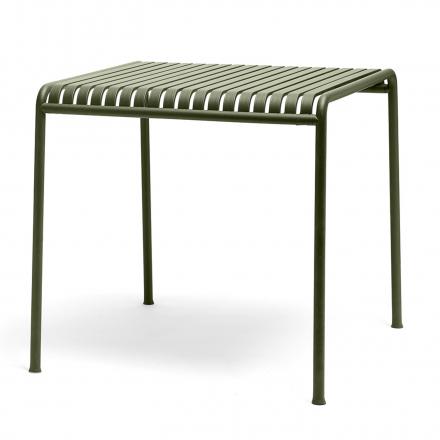 Tisch Palissade quadratisch Farbe olive