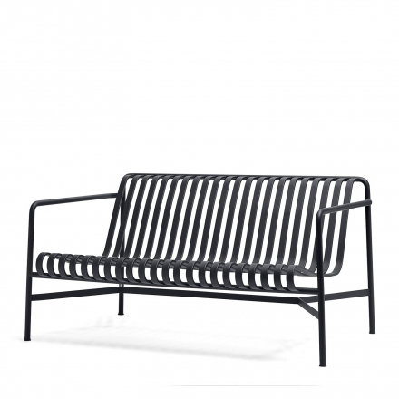 Sofa Lounge Palissade Farbe anthracite