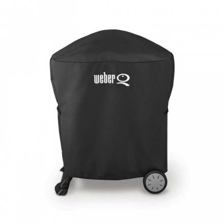 Weber Abdeckhaube Q 1200/1400 u. 2200/2400, Stand u. Rollwagen