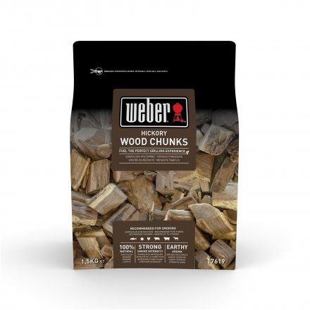 Weber Wood Chunks Hickory