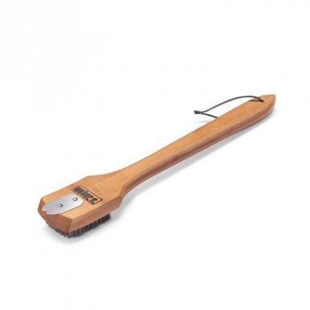 Weber Grillbürste mit Holzgriff 46 cm