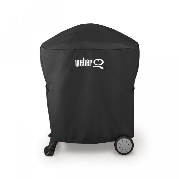 Weber Abdeckhaube Premium Q 100-/1000 u. 200-/2000 mit Rollwagen