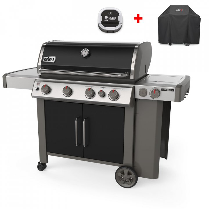 Weber Genesis II EP-435 GBS, Black 2019 + Top Aktion