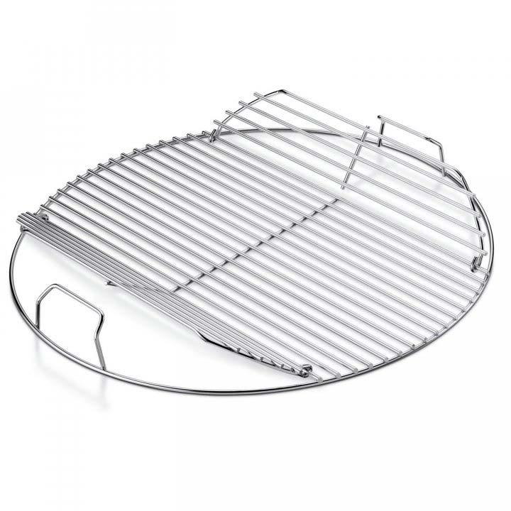 weber grillrost f r bbq 47 cm klappbar edelstahl g nstig. Black Bedroom Furniture Sets. Home Design Ideas