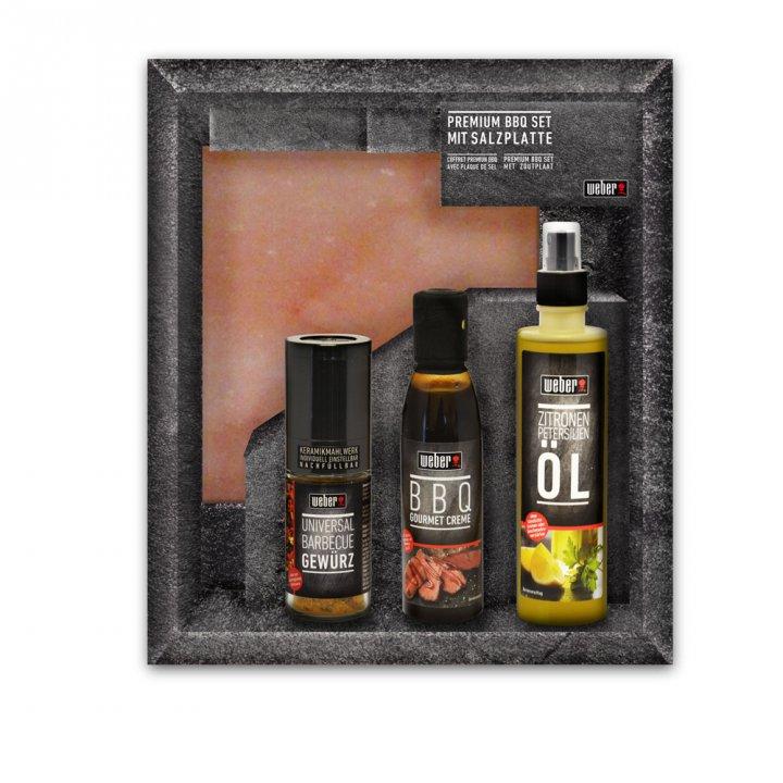 Weber Premium BBQ Set mit Salzplanke