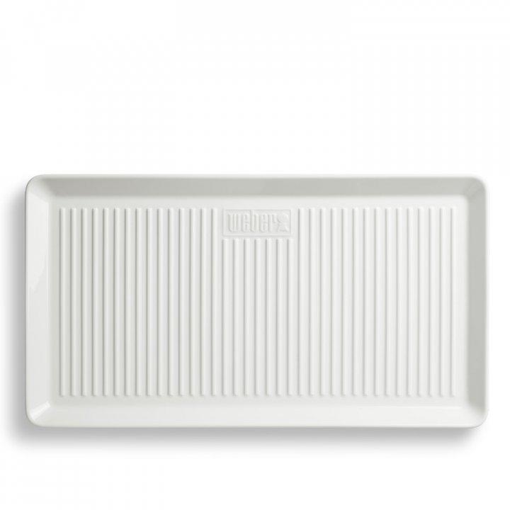 Weber Porzellan-Servierplatte 40x22 cm