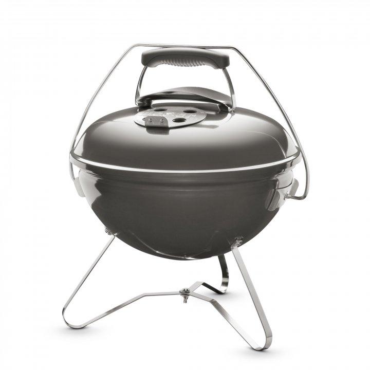 Weber Holzkohle-Grill Smokey Joe Premium 37 cm Smoke Grey