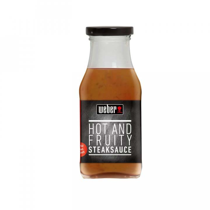 Weber Steaksauce Hot and Fruity
