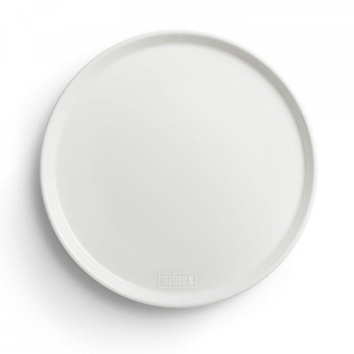 Weber Porzellan-Teller 27,5 cm, 2er Set