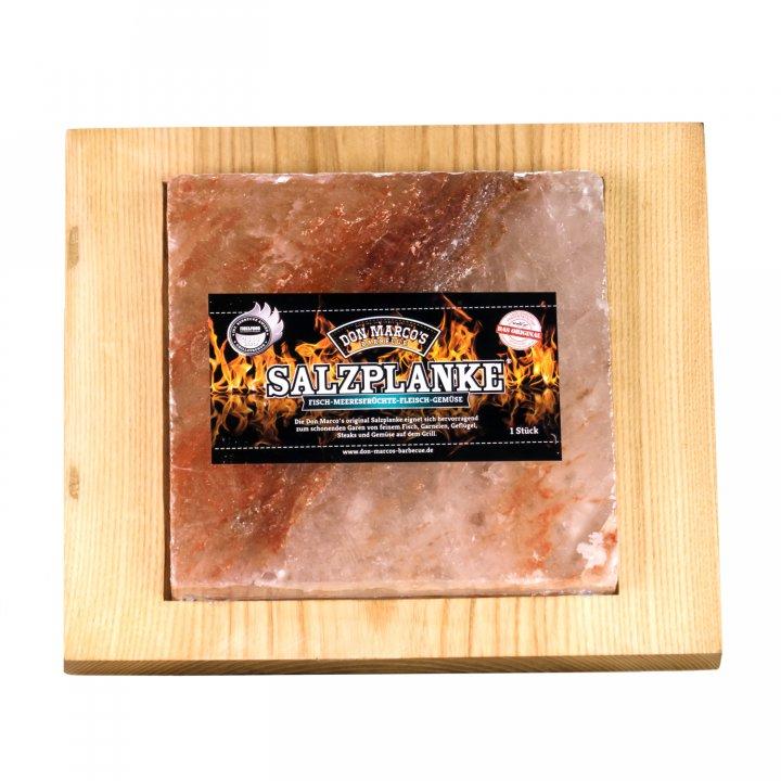 Don Marcos Barbecue Servierhilfe Holz für Salzplanke