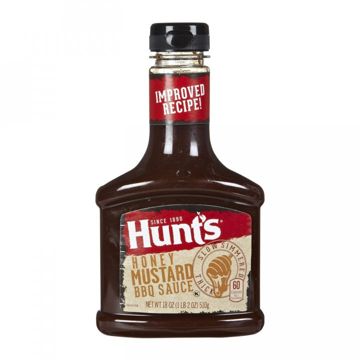 Hunt's BBQ Sauce Honey Mustard