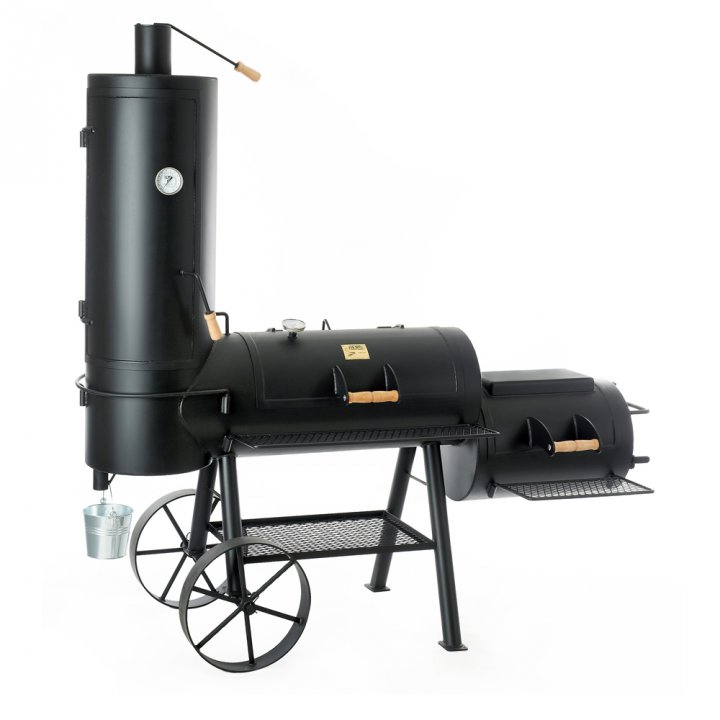joe 39 s bbq smoker 16 39 39 chuckwagon g nstig kaufen weststyle. Black Bedroom Furniture Sets. Home Design Ideas