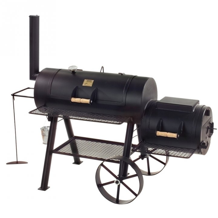 Joe's BBQ Smoker 16'' Longhorn, lange Version