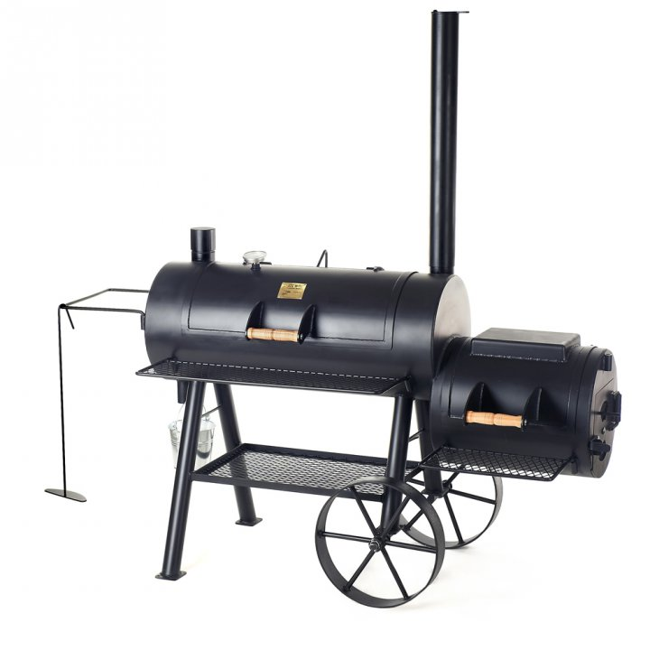 Joe's BBQ Smoker 16'' Reverse Flow, lange Version