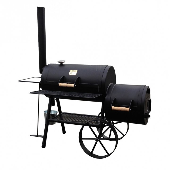 joe 39 s bbq smoker 16 39 39 wild west g nstig kaufen weststyle. Black Bedroom Furniture Sets. Home Design Ideas