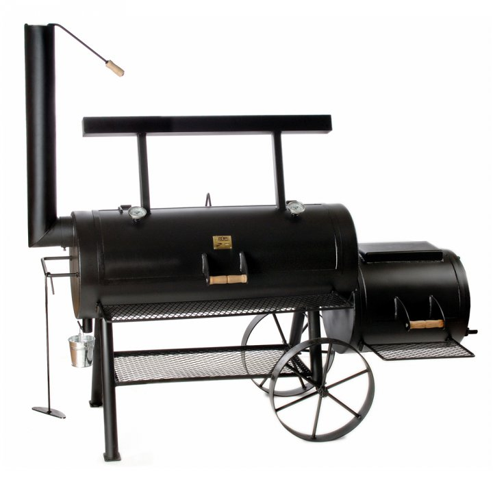 Joe's BBQ Smoker 20'' Championship Longhorn, lange Version