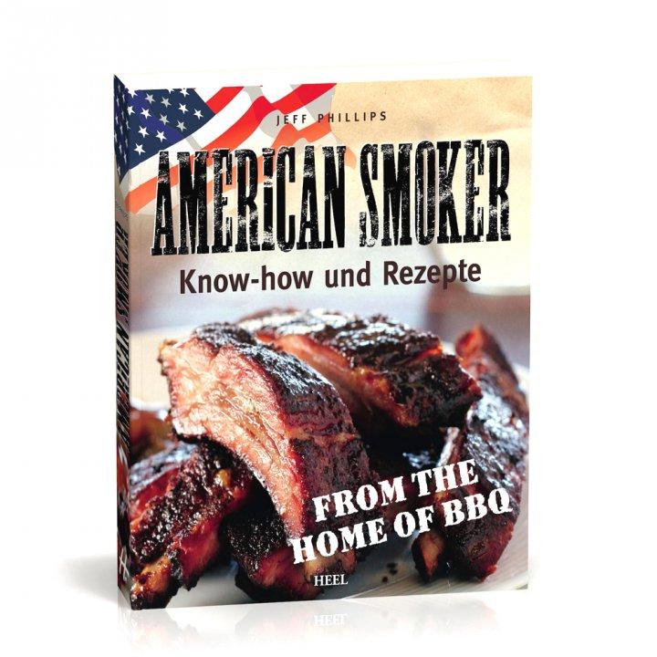 """Smoker Buch """"American Smoker"""", Jeff Phillips"""