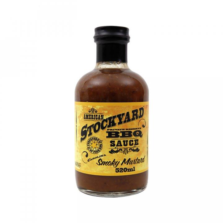 Stockyard Smoky Mustard BBQ Sauce