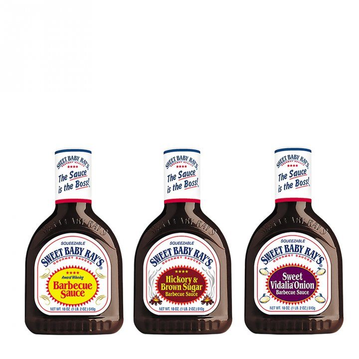 Sweet Baby Ray's BBQ Sauce 3er Set
