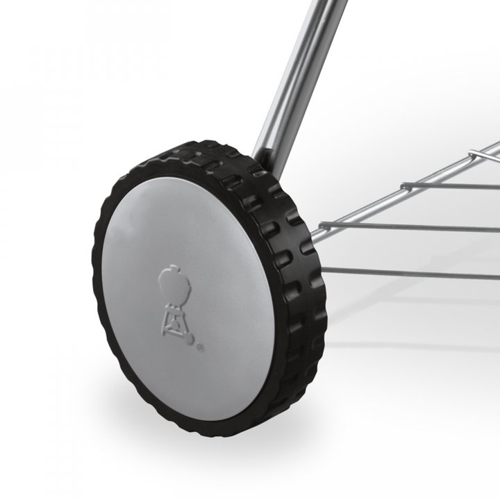 Weber Radabdeckung grau OT Premium 47 cm