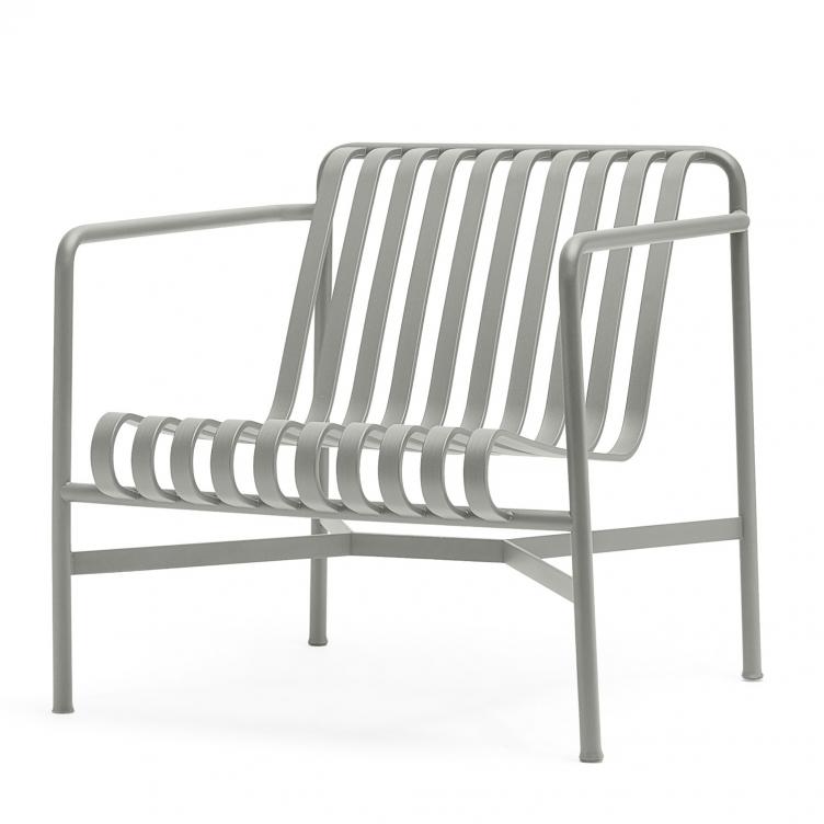 Stuhl Lounge Palissade Farbe sky grey