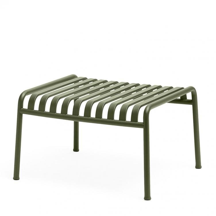 Fußbank / Beistelltisch Palissade Farbe olive