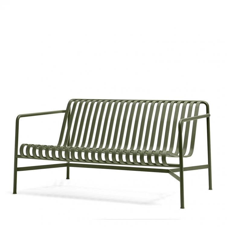 Sofa Lounge Palissade Farbe olive