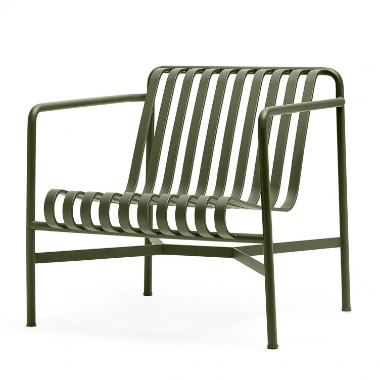 Stuhl Lounge Palissade Farbe olive