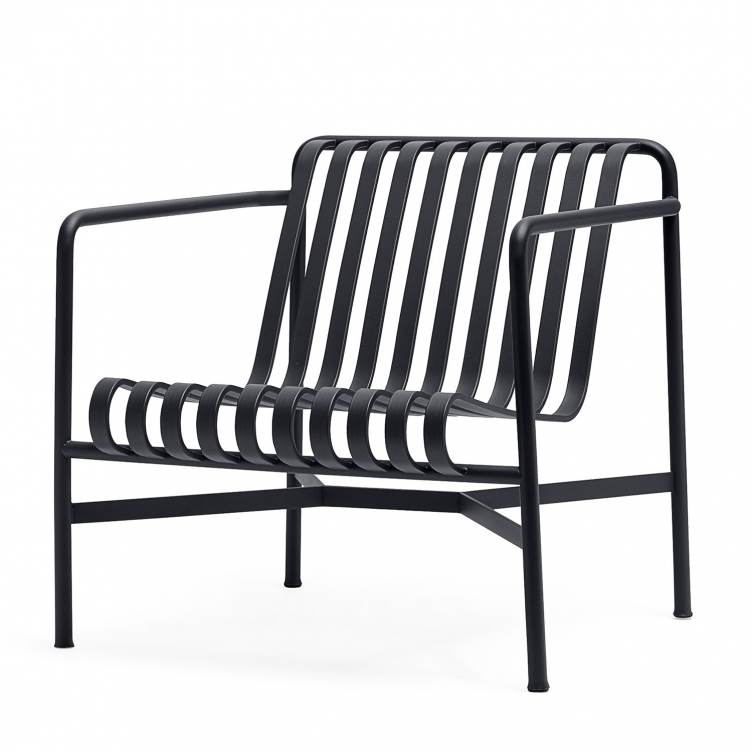Stuhl Lounge Palissade Farbe anthracite