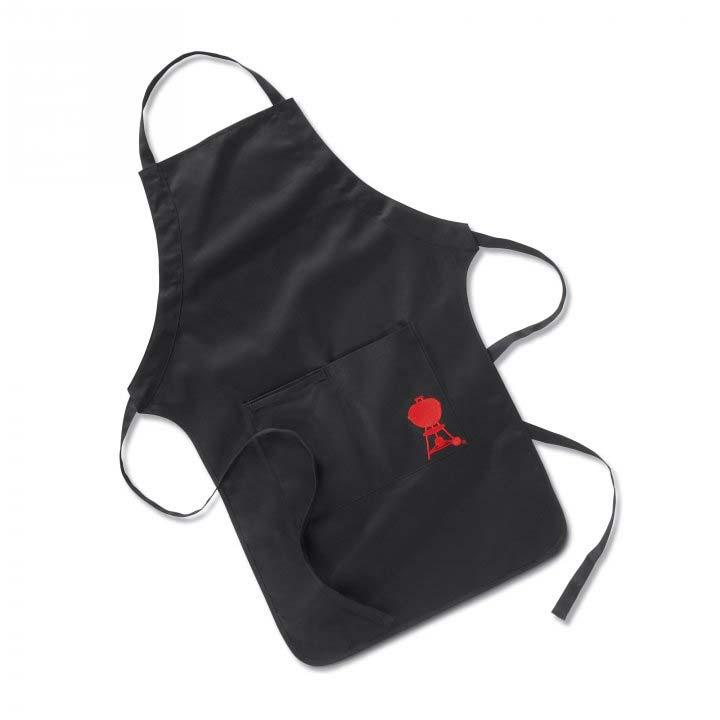 Weber Grillschürze schwarz mit rotem Logo Kettle Grill