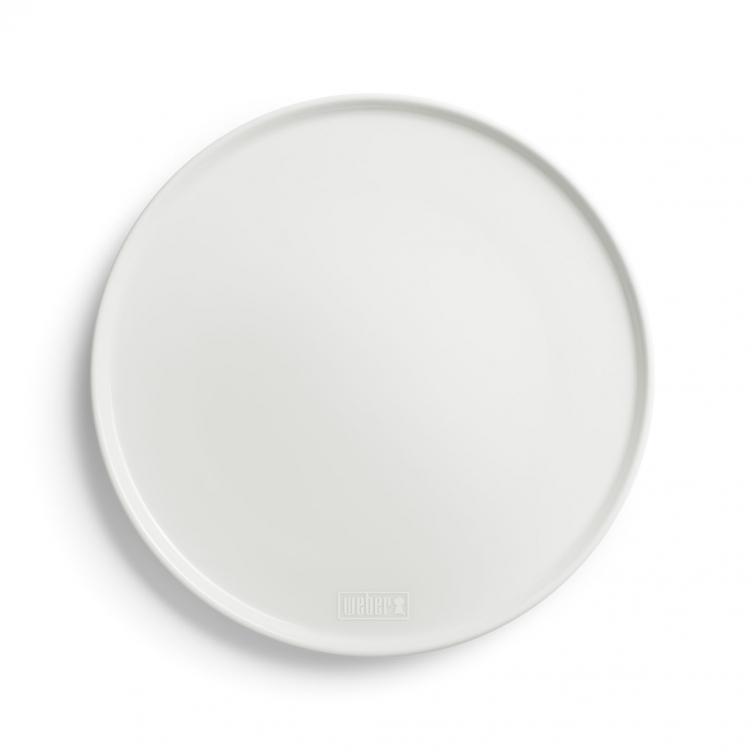 Weber Porzellan-Pizzateller 30,5 cm, 2er Set