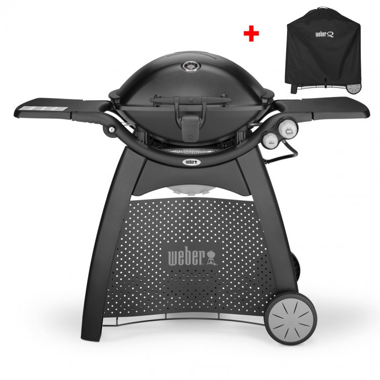 Weber Gasgrill Q 3200, Blackline + Weststyle Edition