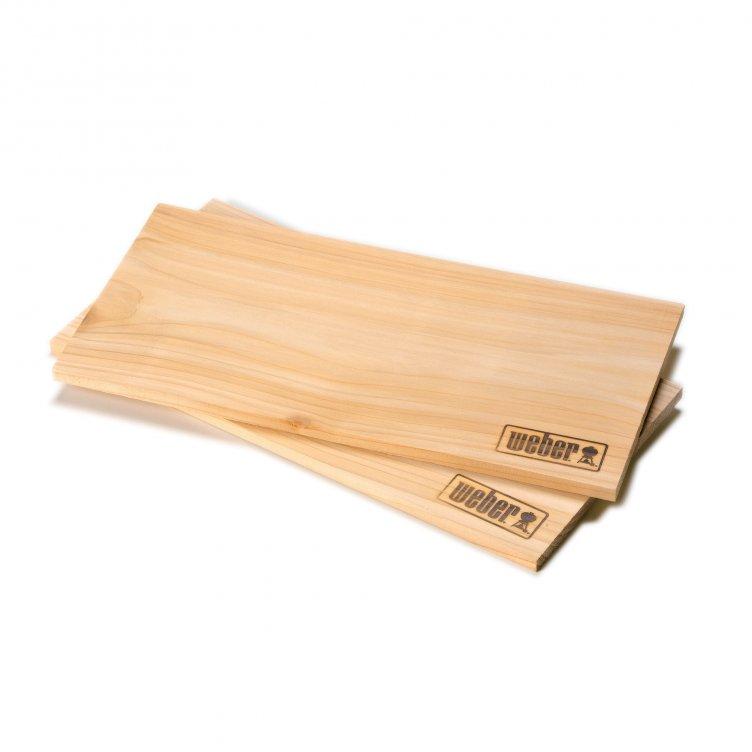 Weber Räucherbretter groß - Zedernholz (2 Stück)