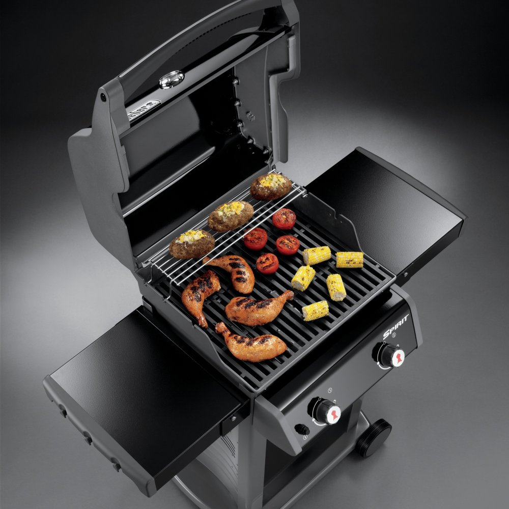 weber gasgrill spirit e 210 original schwarz g nstig kaufen weststyle. Black Bedroom Furniture Sets. Home Design Ideas