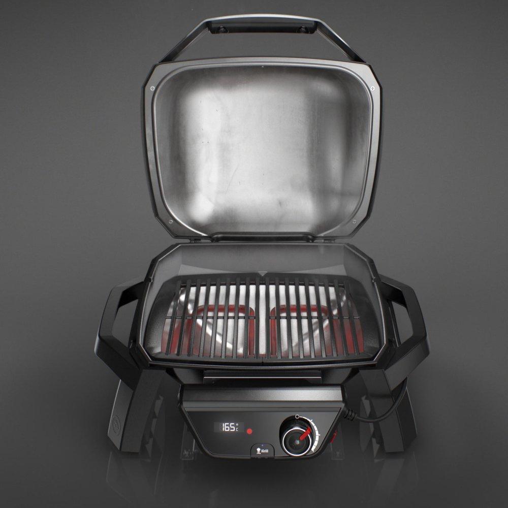 weber pulse 1000 smartgrill mit 1800 watt. Black Bedroom Furniture Sets. Home Design Ideas