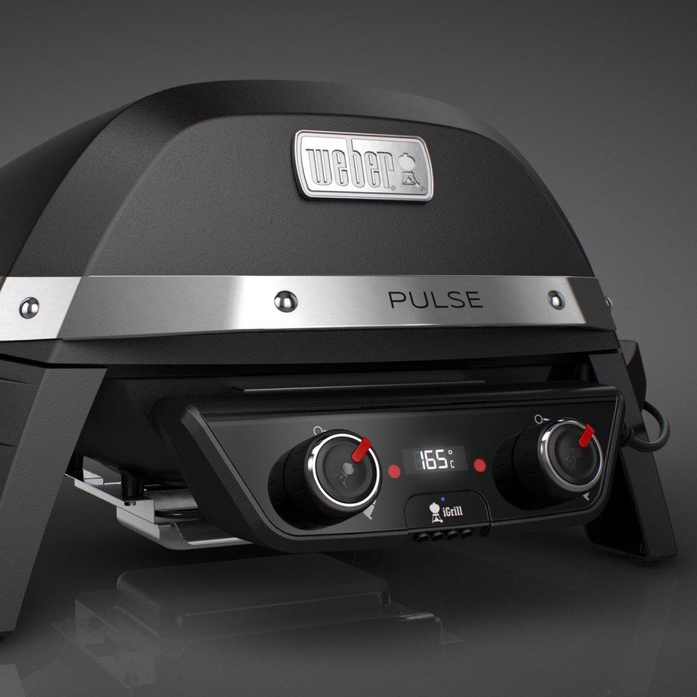 weber pulse 2000 grillpower mit 2200 watt. Black Bedroom Furniture Sets. Home Design Ideas