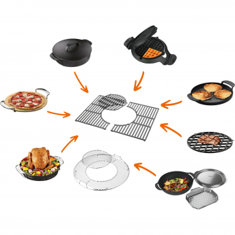 Weber Grillrost Genesis - Gourmet BBQ System, Edelstahl, 3 Brenner bis 2016